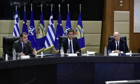 Δένδιας - Παναγιωτόπουλος: Τα σύνορα της Ελλάδας είναι οριοθετημένα και απαράλλακτα