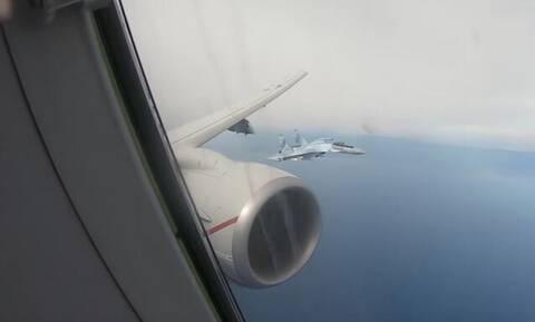 Ένταση πάνω από τη Μεσόγειο: Ρωσικά μαχητικά αναχαίτισαν αεροσκάφος των ΗΠΑ