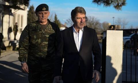 Στον Έβρο ο Μιχάλης Χρυσοχοΐδης - Ενισχύονται με αστυνομικές δυνάμεις τα σύνορα