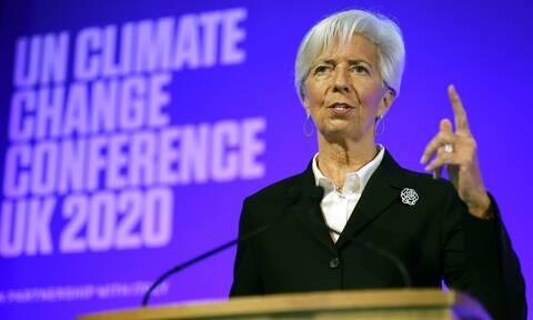 Λαγκάρντ: Συρρίκνωση έως και 12% - Σήμερα η πρόταση της Κομισιόν για το Ταμείο Ανάκαμψης