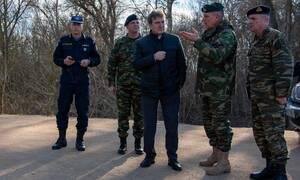 Στον Έβρο ο Μιχάλης Χρυσοχοϊδης - 400 αστυνομικοί ενισχύουν τα σύνορα - Σύσκεψη στο Μαξίμου