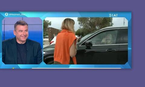 Γιώργος Λιάγκας: Κι όμως αποκάλυψε on air τη συνάντησή του με την Ελένη Μενεγάκη!