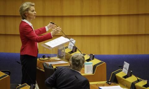 Ούρσουλα φον ντερ Λάιεν: «Είναι η ώρα της Ευρώπης, είναι η ώρα της ευθύνης...»