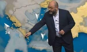 Καιρός: Προσοχή σήμερα κυρίως στην Αττική. Η ενημέρωση του Αρναούτογλου για τις καταιγίδες