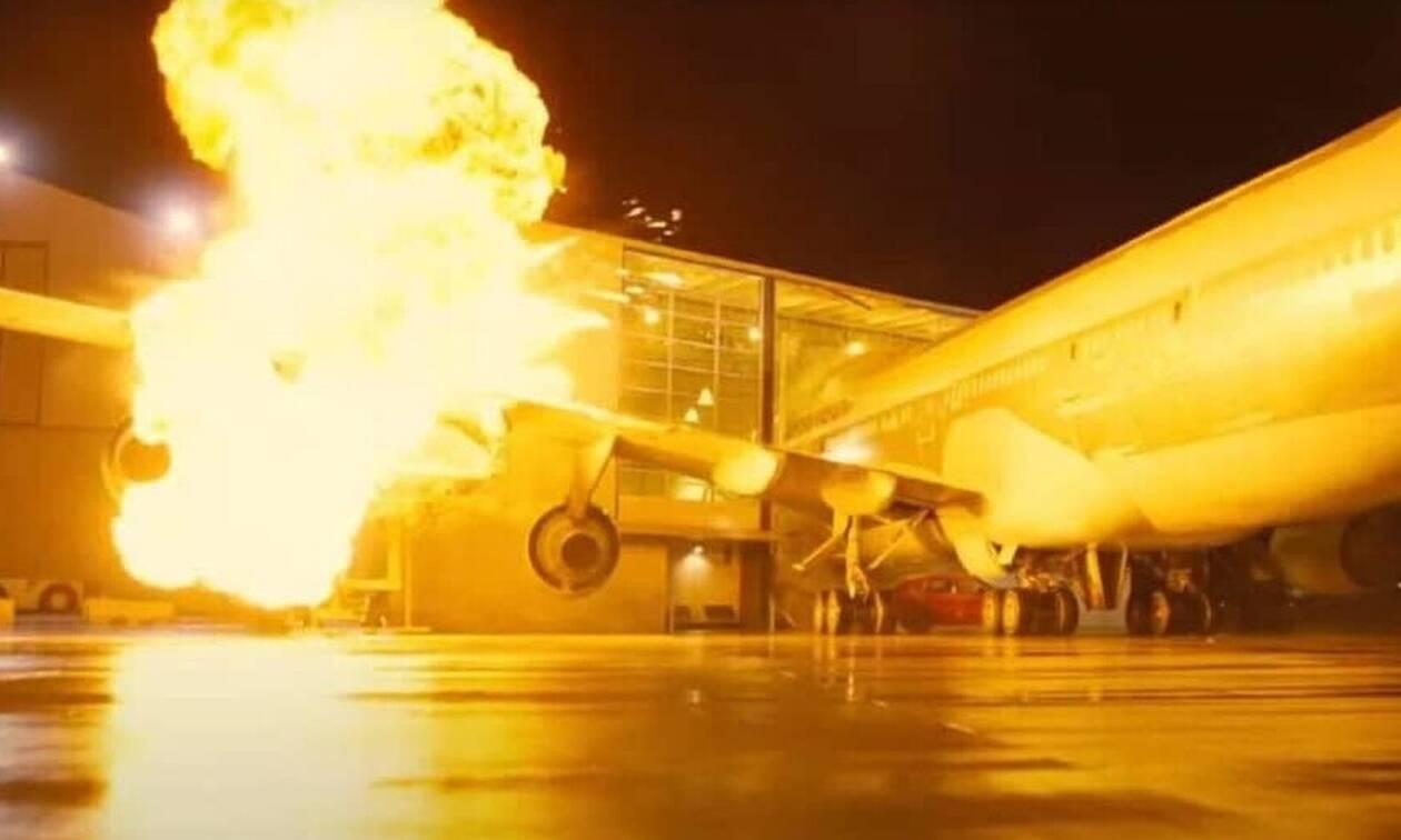 Εξερράγη το αεροπλάνο: Δεν θα πιστεύεις το λόγο!