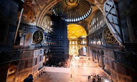Ακραία πρόκληση Ερντογάν: Προσευχή στην Αγία Σοφία για την Άλωση της Κωνσταντινούπολης
