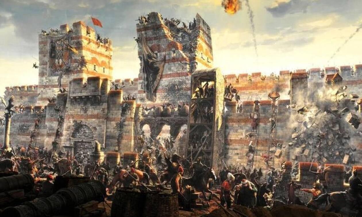29 Μαΐου 1453:Η Αλωση της Κωνσταντινούπολης από τους Τούρκους -Η πτώση της χιλιόχρονης αυτοκρατορίας