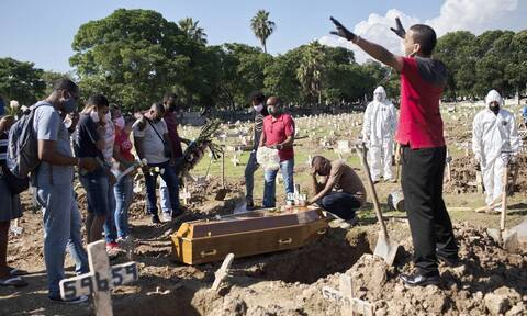 Κορονοϊός στη Βραζιλία: Ρεκόρ 26.417 νέων κρουσμάτων σε 24 ώρες - 1.156 νέοι θάνατοι