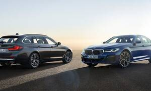 BMW: Η ανανεωμένη 5άρα φυσικά και έχει μεγαλύτερ: Η ανανεωμένη 5άρα φυσικά και έχει μεγαλύτερη μάσκα