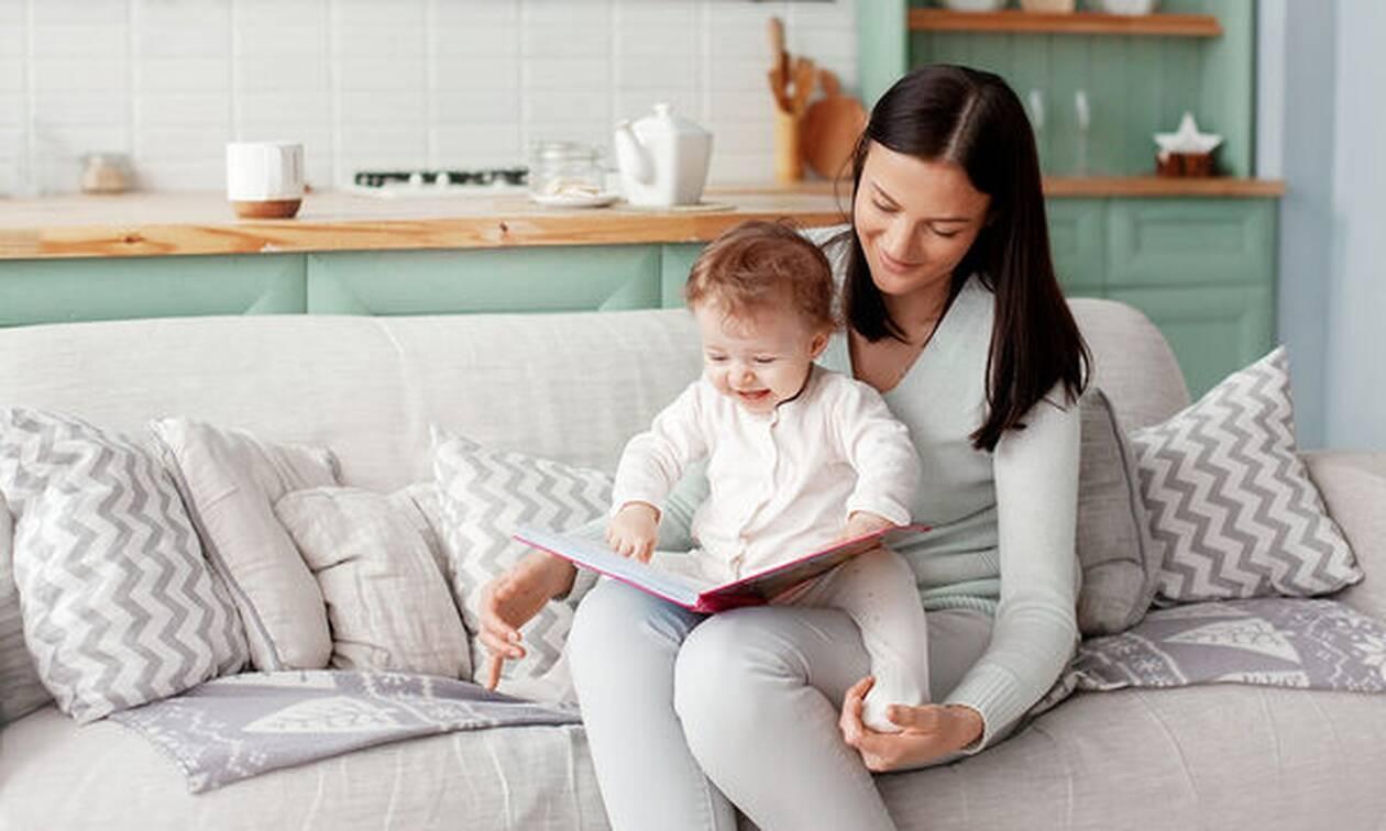 Εμπλουτίζοντας το λεξιλόγιο σε ένα νήπιο 15 μηνών