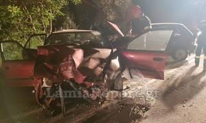 Σοκ στη Λαμία: Τράκαρε με αγριογούρουνο - Νοσηλεύεται σε κρίσιμη κατάσταση (pics)