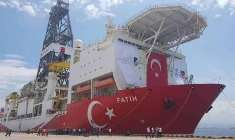 «Φωτιά» στην ανατολική Μεσόγειο: Γεωτρήσεις νότια του Καστελλόριζου ανακοίνωσε η Τουρκία