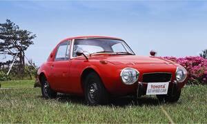 Απίστευτο: Αυτό το Toyota Sports 800 του 1977 έχει κινητήρα τζετ και είναι και υβριδικό!