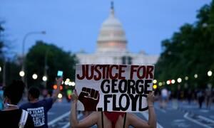 ΗΠΑ: Οργή εκατοντάδων διαδηλωτών μπροστά από τον Λευκό Οίκο για τη δολοφονία του Τζορτζ Φλόιντ