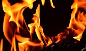 Πραγματικός ήρωας: Κατάστημα πήρε φωτιά και δείτε τι έκανε (video)