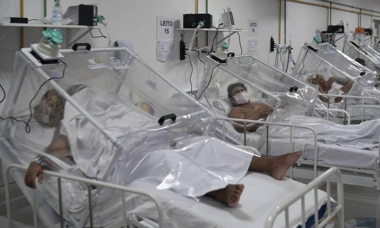 Κορονοϊός - Γαλλία: Συνεχίζεται η μείωση του αριθμού των νοσηλευομένων