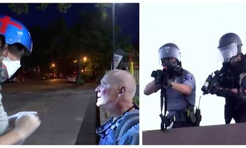 ΗΠΑ - Οργή για τον Φλόιντ: Μέλη του Reuters τραυματίστηκαν από πλαστικές σφαίρες σε διαδηλώσεις