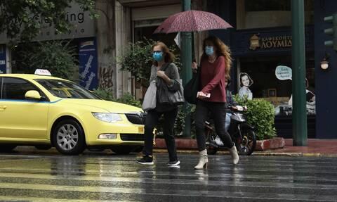 Καιρός: Βροχές και καταιγίδες τη Δευτέρα - Σε ποιες περιοχές θα είναι έντονα τα φαινόμενα