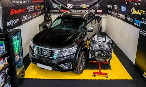 Αυτό είναι το πιο δυνατό Nissan Navara που κυκλοφορεί