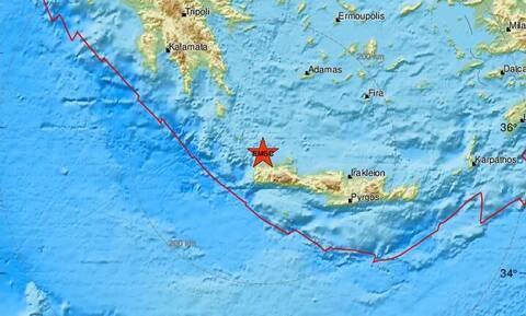 Σεισμός στα Χανιά - Κοντά στην Κίσσαμο το επίκεντρο (pics)