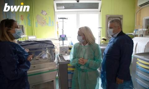 Η bwin στηρίζει το έργο Ιατρών και Νοσηλευτικού προσωπικού στο Νοσοκομείο Παίδων «Π. & Α. Κυριακού»