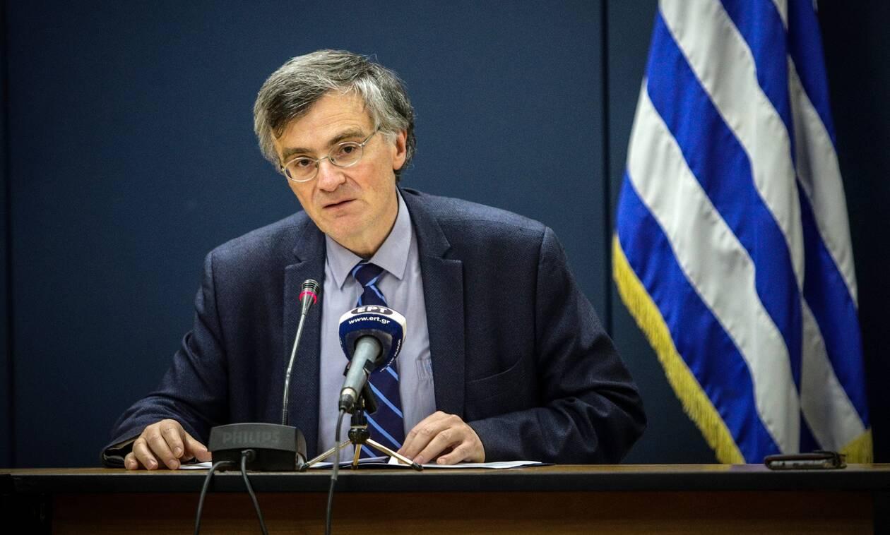 Κορονοϊός - Τσιόδρας: Το R0 στην Ελλάδα ήταν μόλις 0,3 την Κυριακή