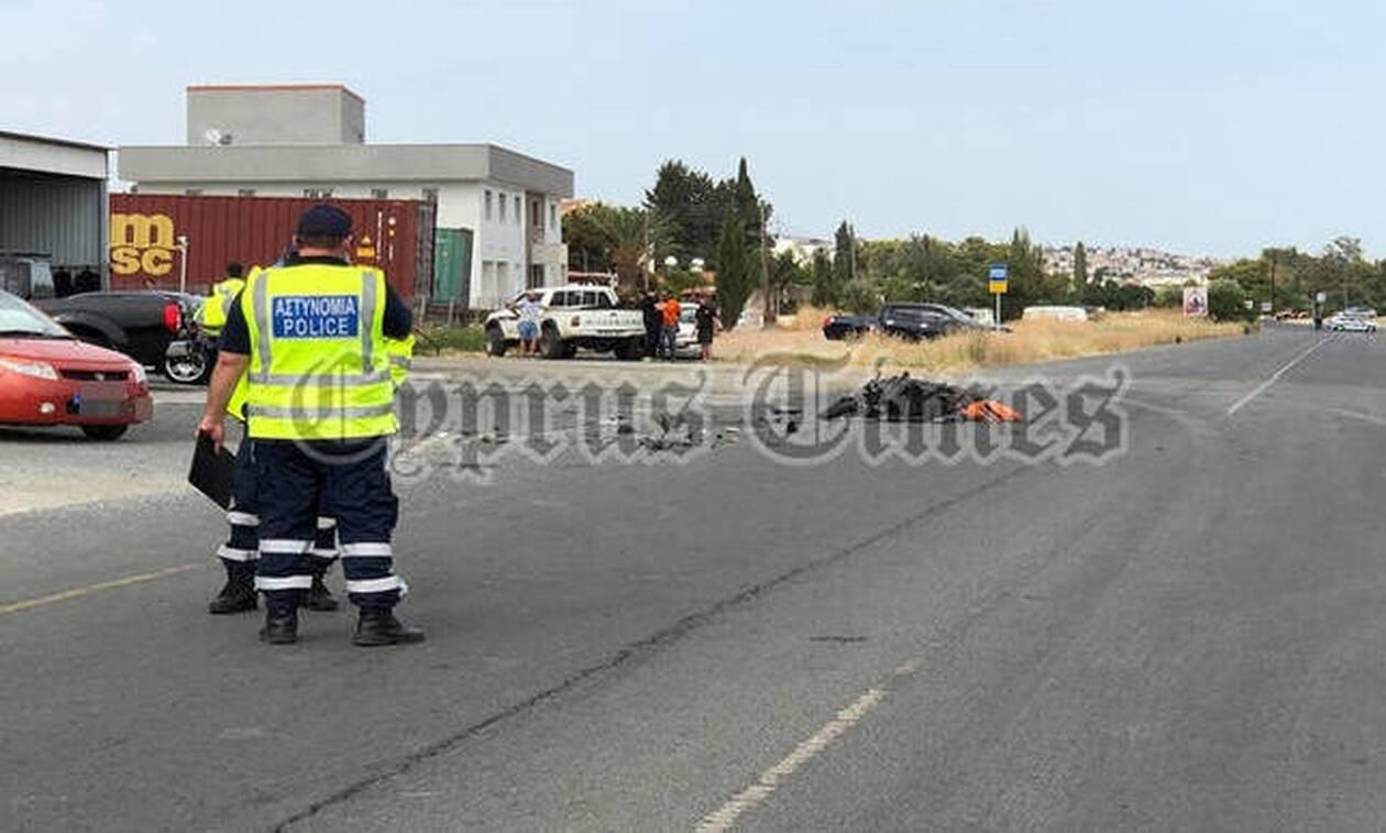 Κύπρος - Λεμεσός: Νεκρός ο μοτοσικλετιστής μετά από τροχαίο (pics)