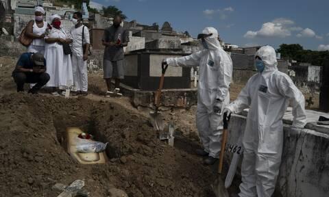 Κορονοϊός στη Βραζιλία: 623 θάνατοι και 11.598 νέα κρούσματα μόλυνσης σε 24 ώρες