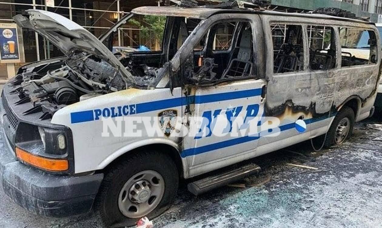 Τζορτζ Φλόιντ: «Εμπόλεμη» ζώνη η Νέα Υόρκη - Μαρτυρία κατοίκου στο Newsbomb.gr (Pics)