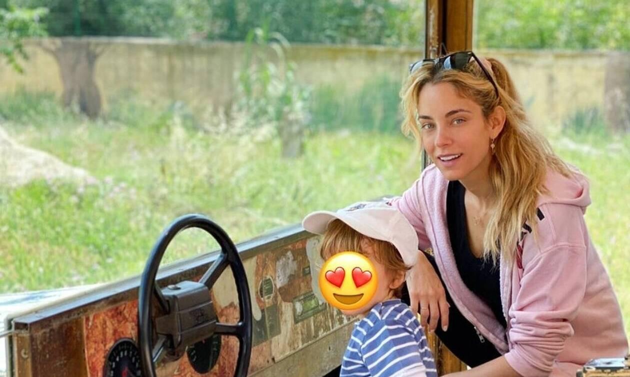 Δούκισσα Νομικού: Δεν θα πιστεύεις πόσο έχει μεγαλώσει ο γιος της Σάββας (photos)