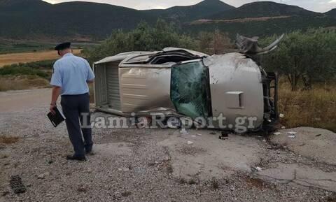 Τραγωδία στην Λαμία: Νεκρός 40χρονος σε σοκαριστικό τροχαίο (pics&vid)