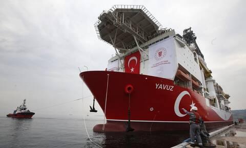 Εδώ θέλουν να «τρυπήσουν» οι Τούρκοι - Ο χάρτης που έδωσε στη δημοσιότητα η Άγκυρα