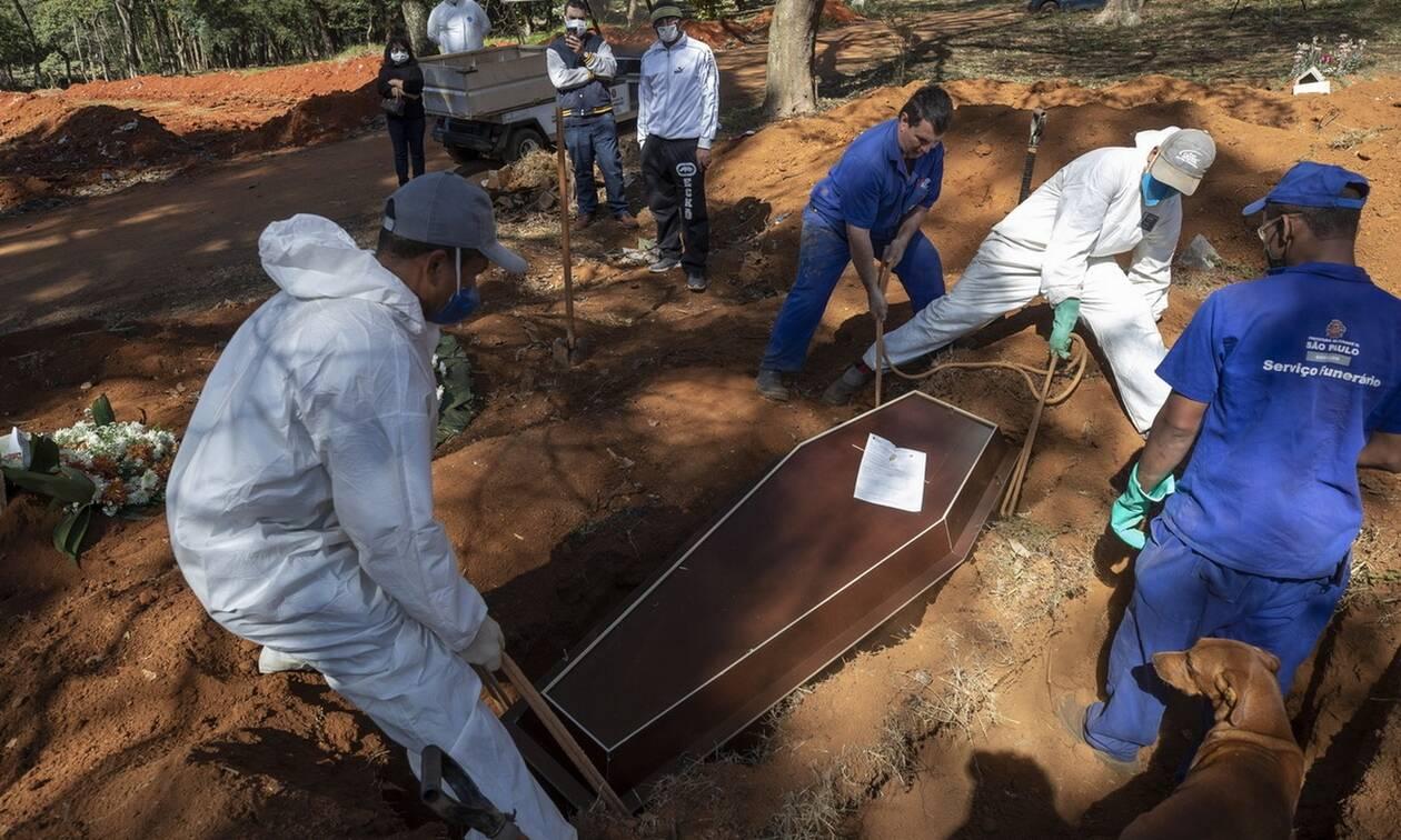 «Νεκροταφείο» η Βραζιλία από τον κορονοϊό: Πάνω από 31.000 τα θύματα της πανδημίας