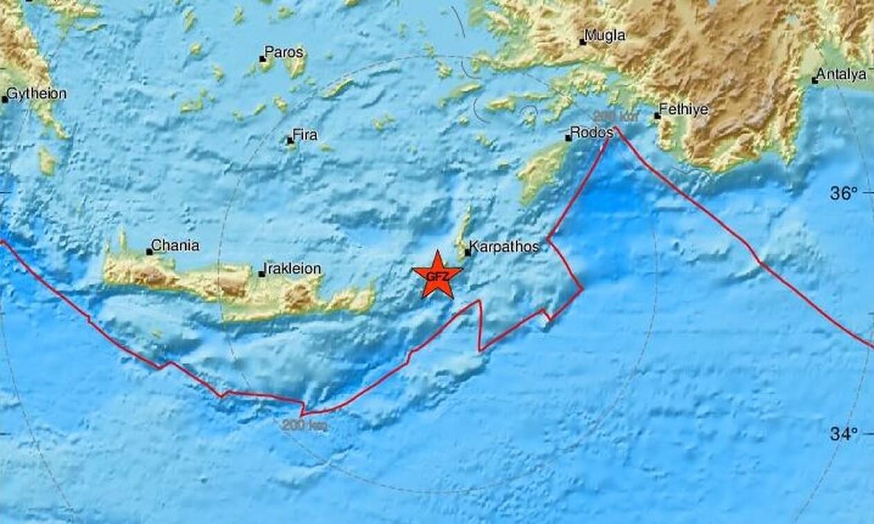Σεισμός στην Κάσο (pics)