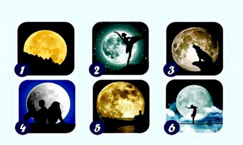 Διάλεξε 1 από τα 6 φεγγάρια και μάθε ένα στοιχείο που σε χαρακτηρίζει!