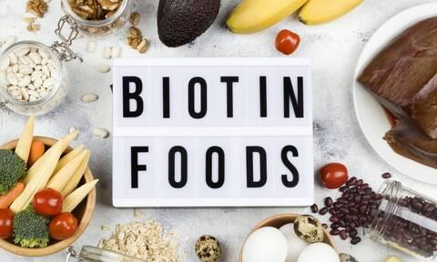 11 τροφές πλούσιες σε βιοτίνη (βίντεο)