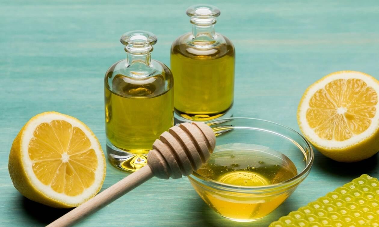 Μέλι, λεμόνι, ελαιόλαδο: Ένας συνδυασμός με απίστευτα οφέλη για την υγεία (βίντεο)