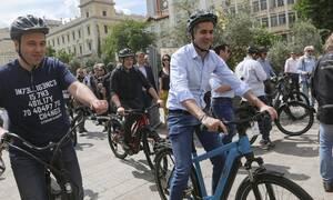 Παγκόσμια Ημέρα Ποδηλάτου: Δήμαρχοι από όλη την Ελλάδα έκαναν ποδηλατοδρομία