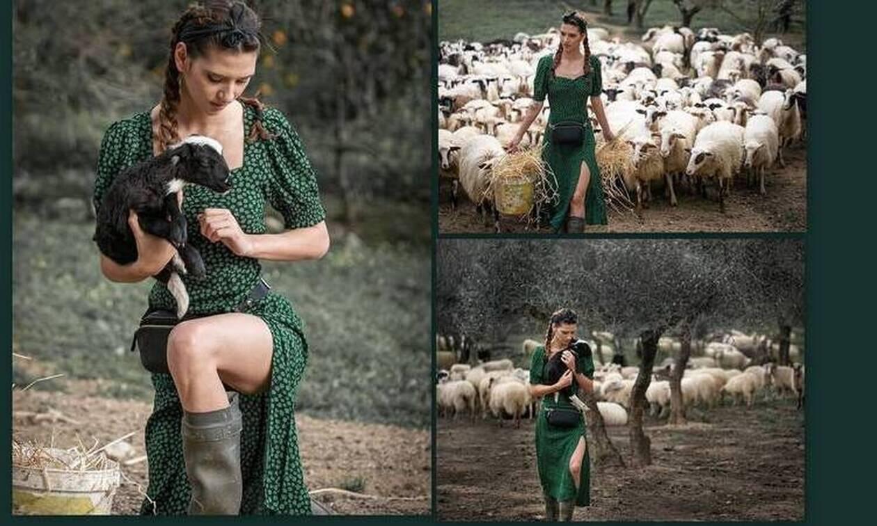 GNTM: Η Μαρία η αγρότισσα ντύθηκε νυφούλα και ο γαμπρός είναι... λεβέντης!