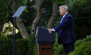Τζορτζ Φλόιντ - Τραμπ: Δεν πιστεύω ότι θα χρειαστεί ο στρατός για την καταστολή των διαδηλώσεων