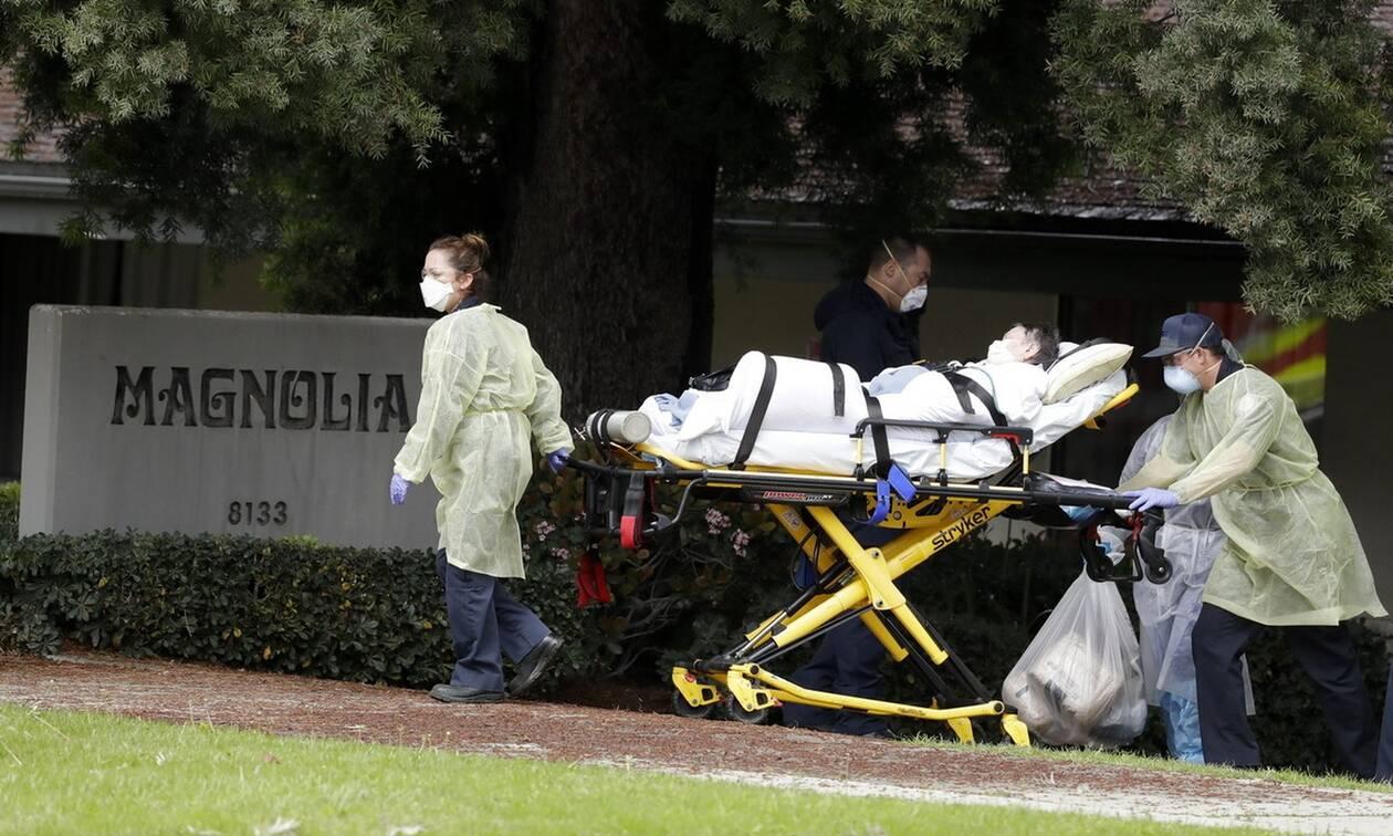 Κορονοϊός στις ΗΠΑ: 919 θάνατοι σε 24 ώρες