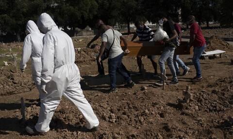 Κορονοϊός στη Βραζιλία: Νέο τραγικό ρεκόρ με 1.349 θανάτους σε 24 ώρες