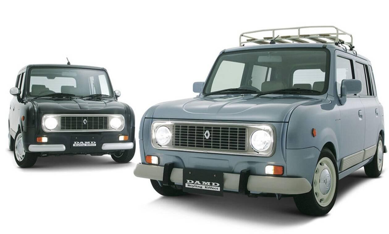 Αυτό το Renault 4 είναι ένα... Suzuki