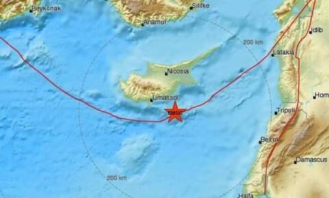 На Кипре произошло землетрясение 4,8 балла