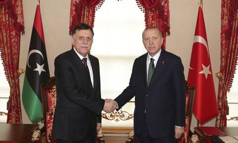 Κρίσιμη συνάντηση Ερντογάν-Σάρατζ: Στο μενού τα κοιτάσματα νότια της Κρήτης