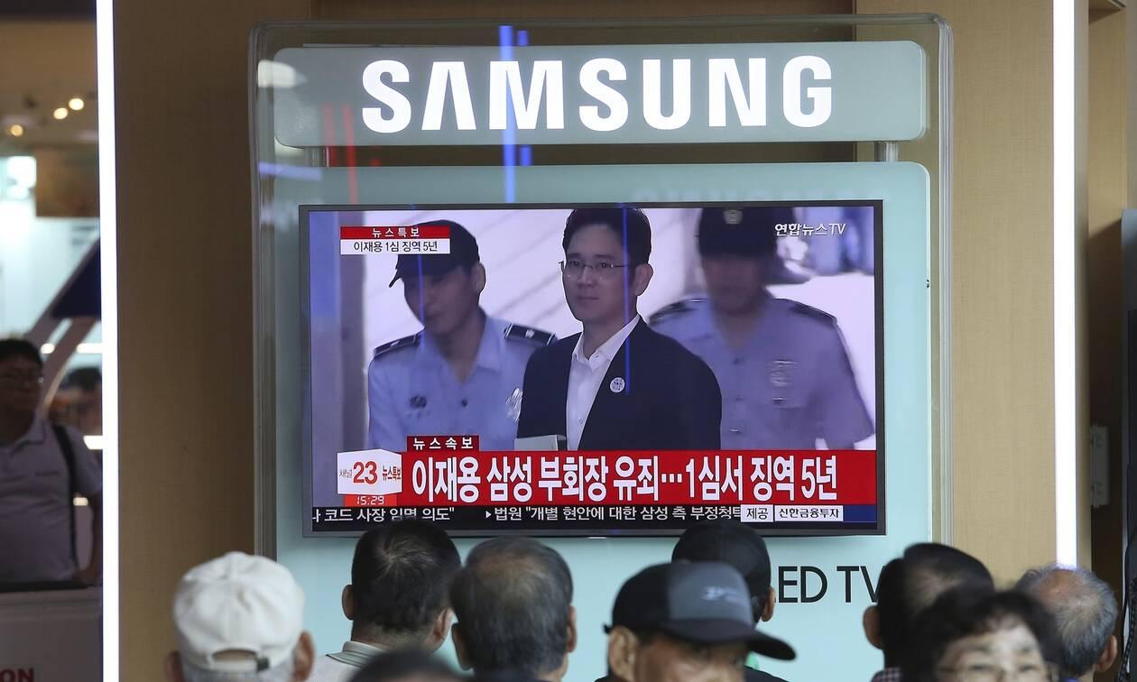 Ένταλμα σύλληψης για τον αντιπρόεδρο της Samsung - Κατηγορείται για απάτη