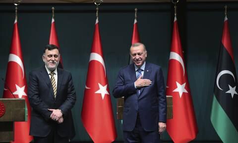 Επικίνδυνη εξέλιξη:Συμφωνία Ερντογάν - Σάρατζ για νέα θαλάσσια συνεργασία