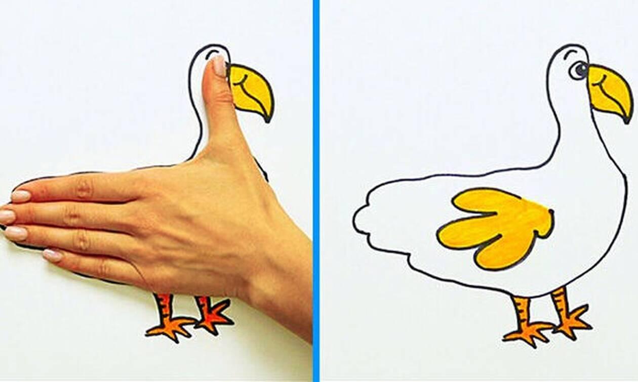 Πώς θα κάνετε 30 απίθανες ζωγραφιές σε λίγα μόλις λεπτά (vid)