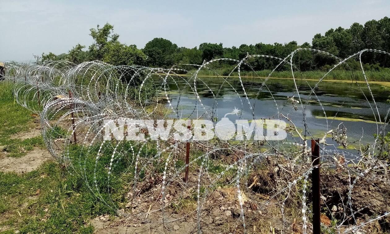 Έβρος: Εδώ μπαίνει ο φράκτης - Αποκλειστικές φωτογραφίες Newsbomb.gr