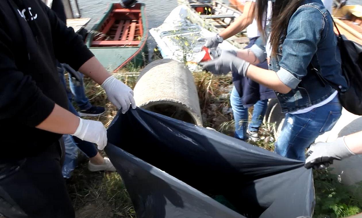 Δράση καθαρισμού του Δέλτα του Έβρου από εθελοντές της περιοχής